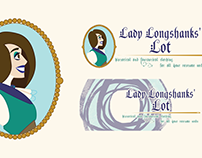 Graphic Design - Collateral for Lady Longshanks' Lot