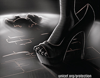 Stop Child Sex trafficking Poster