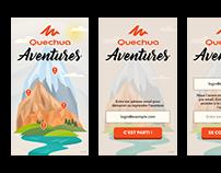Quechua Aventures iOS/Android App
