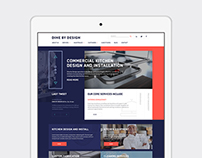 DBD - Commercial Kitchens Website