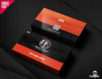 Business Card PSD Freebie
