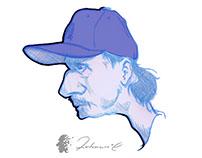 Pencil Caricatures Doodles Sketchbook