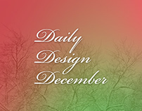 Daily Design December 2018