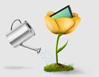 Graphics for Art@IT website
