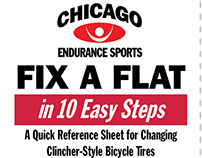 Chicago Endurance Sports - Fix A Flat reference