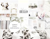 Moodboard_Inspirativni enterijeri: Pastel, potomak bele