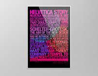 Helvetica Story poster