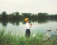 小さい頃/釣魚