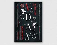 Valentines Day Flyer Template V16