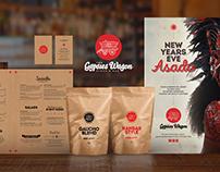 Gypsies Wagon Restaurant Branding & Packaging