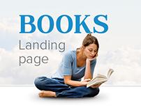 Books - landing page