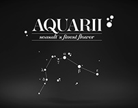 Aquarii . seasalt's finest flower