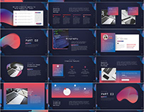 Multicolor Attractive PowerPoint template