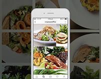 Estrategia Digital FRIOS Crepes & Waffles (instagram)