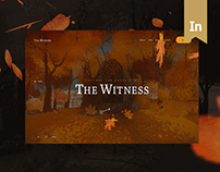 The Witness Game · Site Redesign