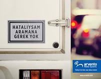 Arvento Print Ad - Hatalıysam Arama (2016)