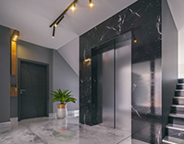 Luxury Apartments Entry