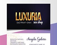 Cartão de Visitas - Luxuria