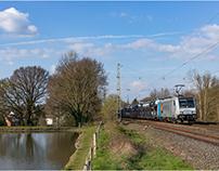 Bahnbilder April 2019