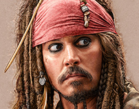 Johnny Depp (étude)