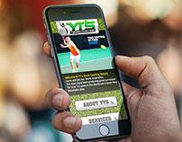 YT'S Tennis Branding & Web Design