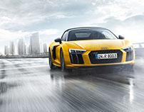 Audi R8 Spyder Sonda Productions