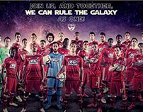 FC Dallas Match Poster