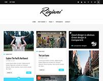 Rinjani - A Responsive Grid Blog Theme