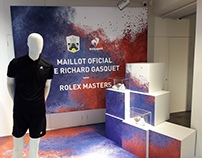 Escaparate Le Coq - Rolex Masters (Flagship Barcelona)