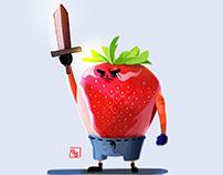 Strawberry warrior