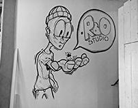 RBO Studio Mural