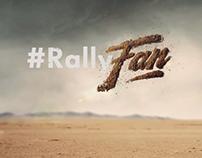 Volkswagen - #RallyFan WRC Bumper.