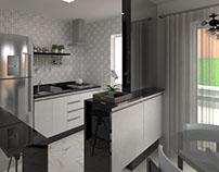 Projeto casa térrea - Residencial Casas da Toscana