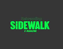 Sidewalk Magazine rebrand