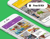 Weeny iOS UI Kit - Freebie
