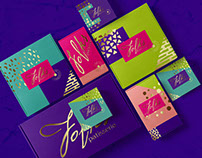 Branding and packaging design for Folks patisserie