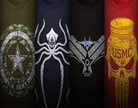 Wez Apparel: Military Super Hero Collection