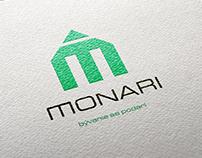 Logo developerskej spoločnosti Monari.