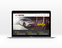 Autorepair website template
