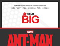 Antman - 5 Poster Designs