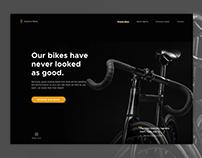 Bikes Landing Page