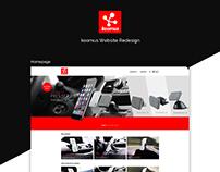 Koomus Website Redesign