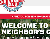Tractor Supply Co. Loyalty Onboarding