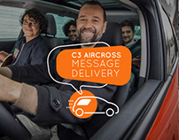 C3 Aircross Message Delivery | Digital activation