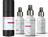 New skin serum label