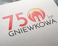 Anniversary logo for contest in Gniewkowo