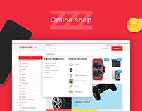 ZZZ. Online shop