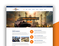 Saros Energy - Website Design