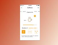 Daily UI/UX Challenge - day 04 caffeine calculator