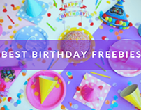 Best Birthday Freebies